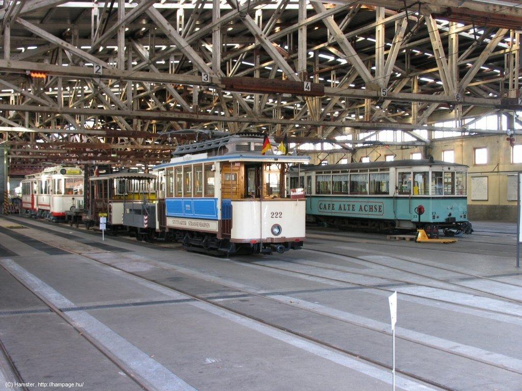 Stuttgart good bye to the zuffenhausen tramway museum for Depot esslingen